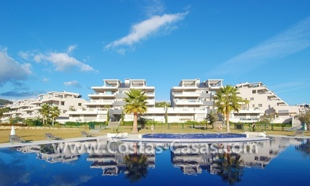 New luxury penthouse holiday apartment for rent in contemporary style, Marbella - Costa del Sol 1