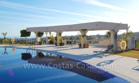 New luxury penthouse holiday apartment for rent in contemporary style, Marbella - Costa del Sol 8