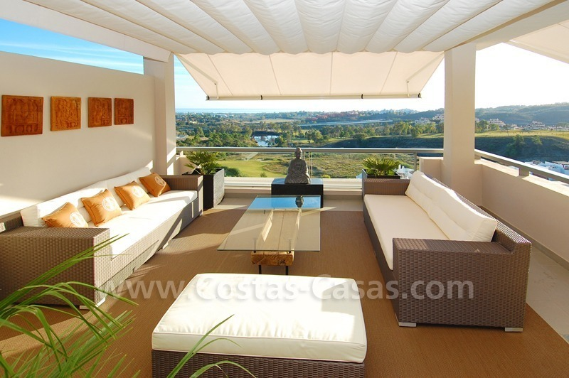 For Rent In Contemporary Style Marbella Benahavis Costa Del Sol 109923