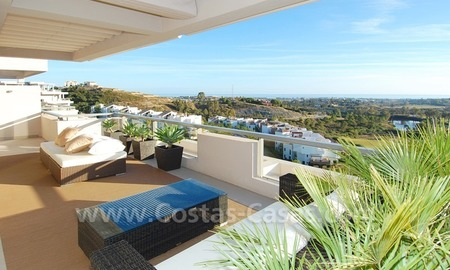 New luxury penthouse holiday apartment for rent in contemporary style, Marbella - Costa del Sol 11
