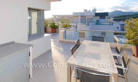 New luxury penthouse holiday apartment for rent in contemporary style, Marbella - Costa del Sol 15