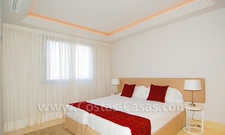 New luxury penthouse holiday apartment for rent in contemporary style, Marbella - Costa del Sol 28