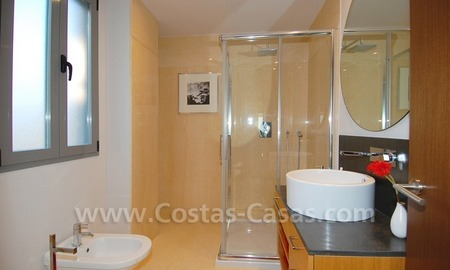 New luxury penthouse holiday apartment for rent in contemporary style, Marbella - Costa del Sol 29