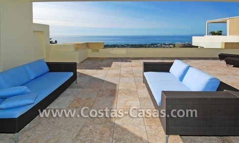 Modern luxury penthouse apartment for sale in Marbella