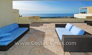 Modern luxury penthouse apartment for sale in Marbella 0