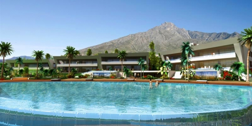 Luxury modern style new apartments and penthouses for sale in Golden Mile - Marbella  1