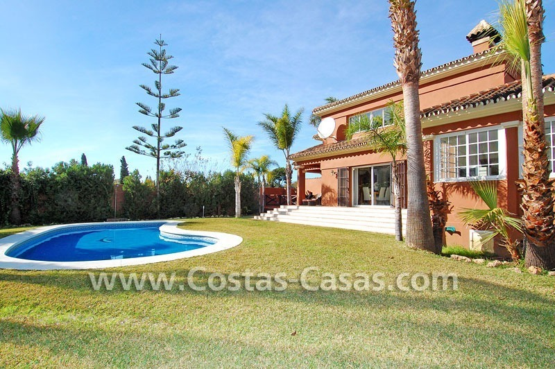 Bargain andalusian styled villa nearby the beach for sale in Marbella 2