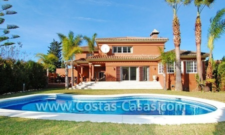 Bargain andalusian styled villa nearby the beach for sale in Marbella 1