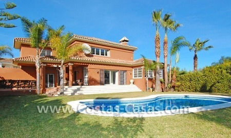 Bargain andalusian styled villa nearby the beach for sale in Marbella 0