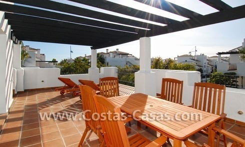 Cozy apartments and penthouses close to the beach to buy in Marbella