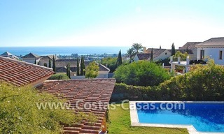 Andalusian style detached villa to buy in a golf resort, New Golden Mile - Marbella - Benahavis - Estepona 1