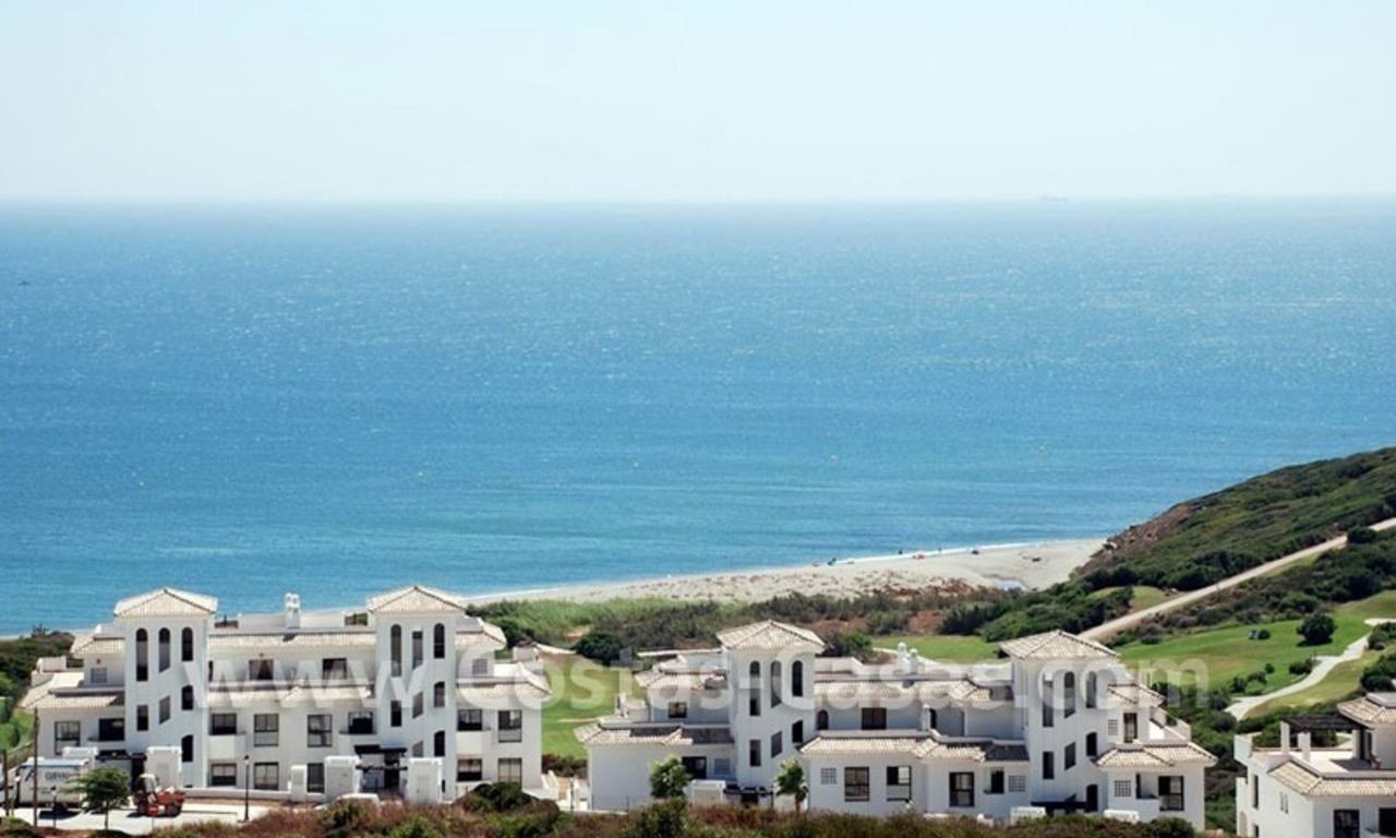 Bargain Luxury frontline golf and first line beach apartments for sale at the Costa del Sol 8