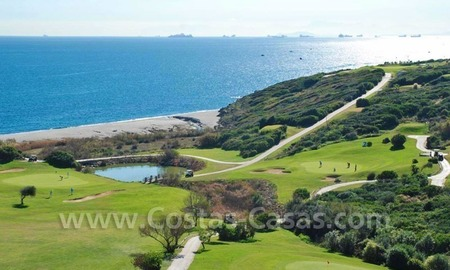 Bargain Luxury frontline golf and first line beach apartments for sale at the Costa del Sol 5