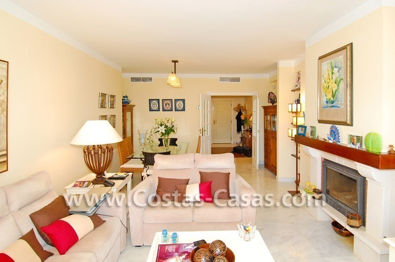 Bargain apartment to buy on beachfront complex in Marbella 2