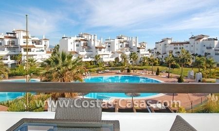 Bargain apartment to buy on beachfront complex in Marbella 0