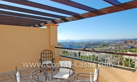 Luxury golf penthouse apartment for sale in a golf resort, Benahavis - Marbella 3