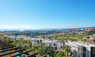 Luxury golf penthouse apartment for sale in a golf resort, Benahavis - Marbella 0