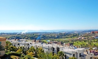 Luxury golf penthouse apartment for sale in a golf resort, Benahavis - Marbella 1