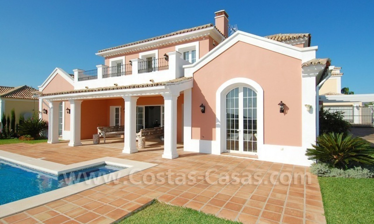 New villa for sale in gated community - Marbella - Benahavis 1