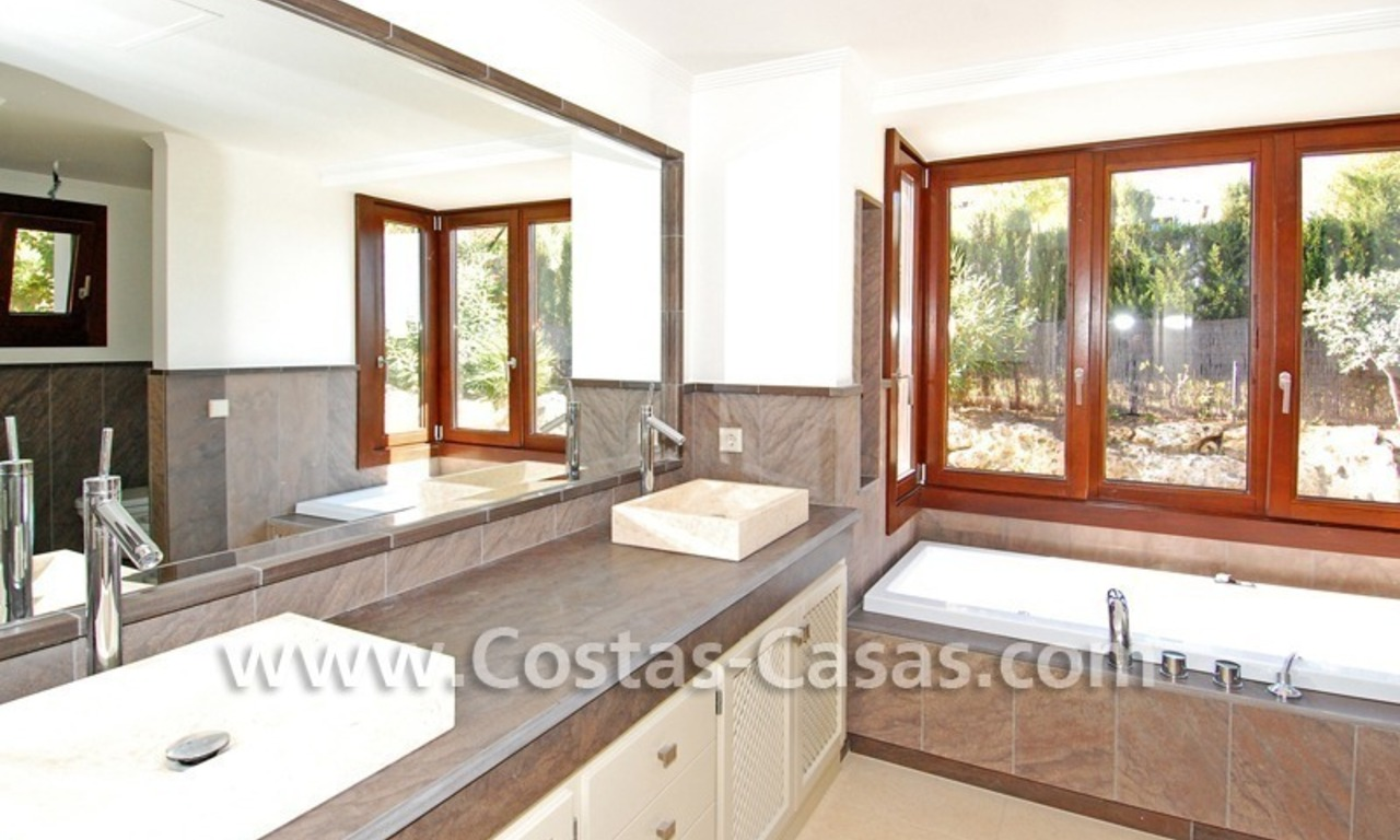 Cozy luxury villa to buy in a gated resort, Benahavis – Estepona - Marbella 15