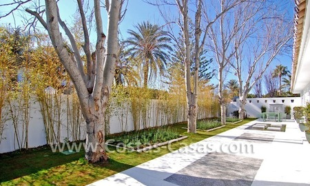 Completely renovated modern andalusian villa close to the beach for sale in Marbella 8