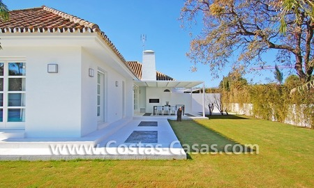 Completely renovated modern andalusian villa close to the beach for sale in Marbella 7