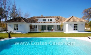 Completely renovated modern andalusian villa close to the beach for sale in Marbella 1