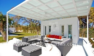 Completely renovated modern andalusian villa close to the beach for sale in Marbella 3