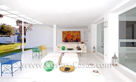 Completely renovated modern andalusian villa close to the beach for sale in Marbella 11