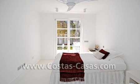 Completely renovated modern andalusian villa close to the beach for sale in Marbella 24
