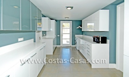 Completely renovated modern andalusian villa close to the beach for sale in Marbella 17