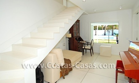 Completely renovated modern andalusian villa close to the beach for sale in Marbella 19