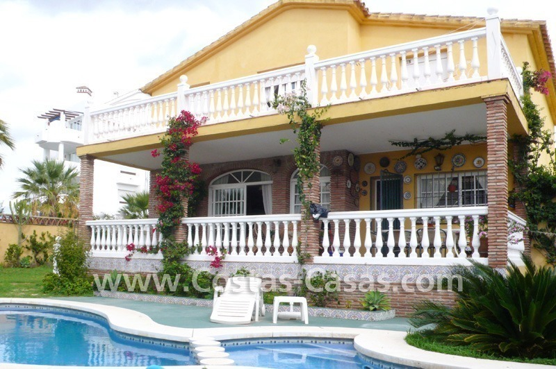 Beachside villa for sale, near the beach in east Marbella