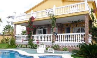 Beachside villa for sale, near the beach in east Marbella 0