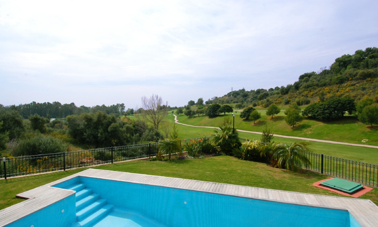 First line golf modern andalusian styled luxury villa for sale in Marbella - Benahavis 7
