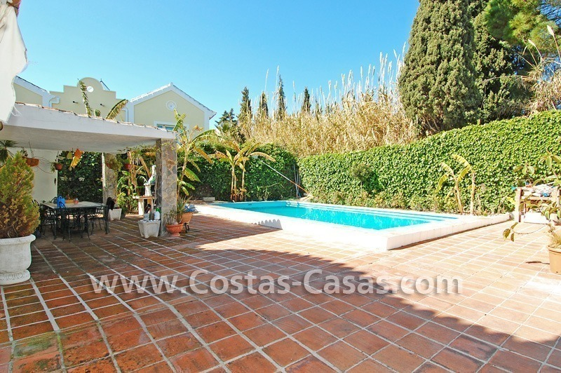 Bargain Andalusian style villa to buy on the Golden Mile in Marbella 6
