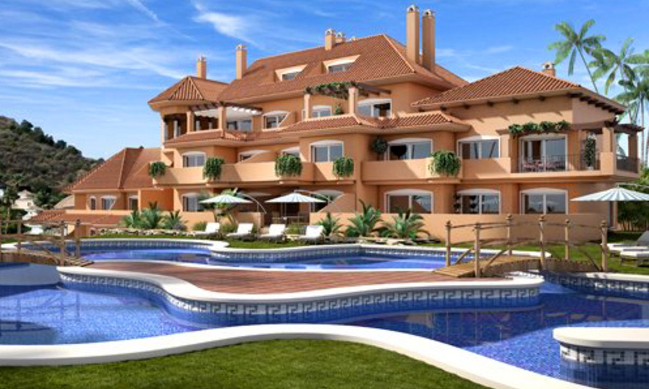 Luxury apartments and penthouses for sale in Nueva Andalucia, Marbella 0