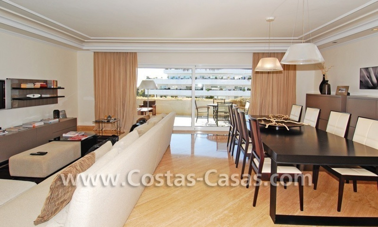 Spacious luxury beachside apartment for sale in Nueva Andalucía nearby Puerto Banus in Marbella 2