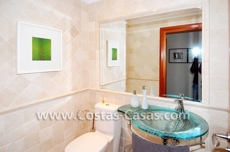 Spacious luxury beachside apartment for sale in Nueva Andalucía nearby Puerto Banus in Marbella 6