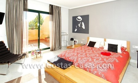 Cozy and trendy townhouse to buy on the Golden Mile in Marbella 18