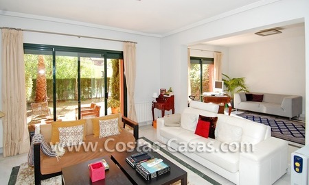 Cozy and trendy townhouse to buy on the Golden Mile in Marbella 10