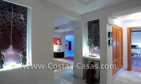 Cozy and trendy townhouse to buy on the Golden Mile in Marbella 15