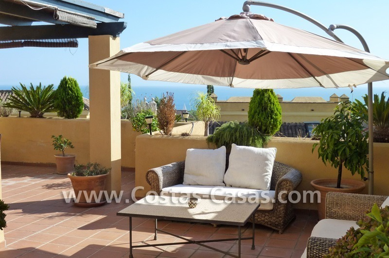 Cozy and trendy townhouse to buy on the Golden Mile in Marbella