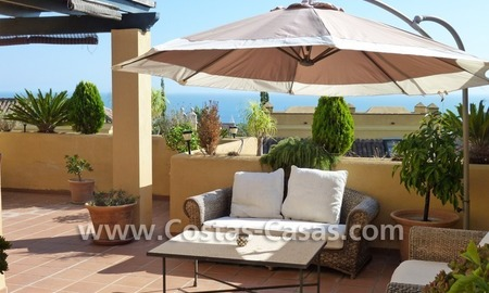 Cozy and trendy townhouse to buy on the Golden Mile in Marbella 0