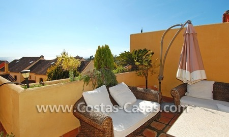 Cozy and trendy townhouse to buy on the Golden Mile in Marbella 1