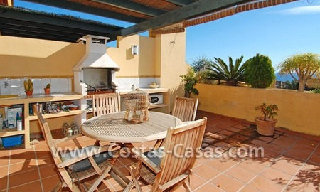 Cozy and trendy townhouse to buy on the Golden Mile in Marbella 2
