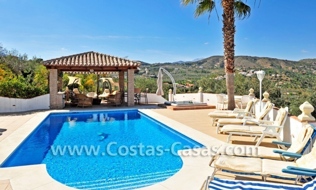 Villa – Finca - Country property for sale in Monda on the Costa del Sol, Andalusia, Southern Spain 28