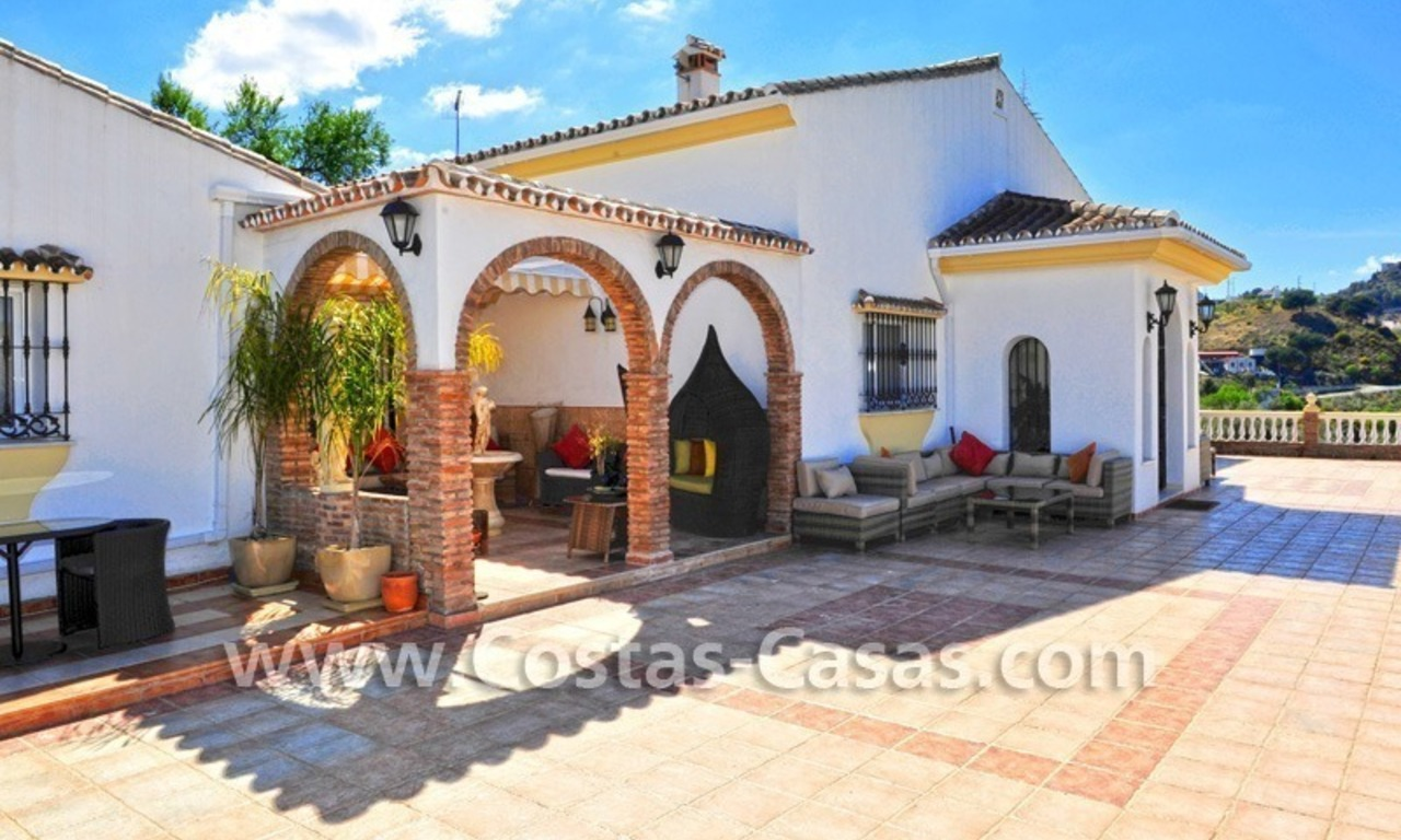 Villa – Finca - Country property for sale in Monda on the Costa del Sol, Andalusia, Southern Spain 12