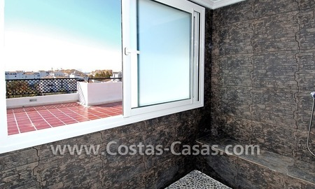 Double penthouse apartment to buy in central Puerto Banus, Marbella 21