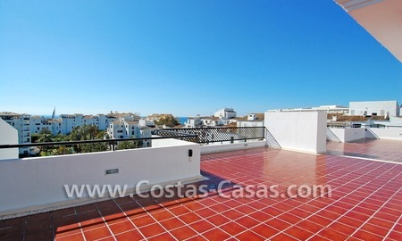Double penthouse apartment to buy in central Puerto Banus, Marbella 0